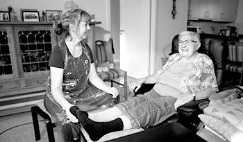 E-læring om Bensår til sygeplejesker
