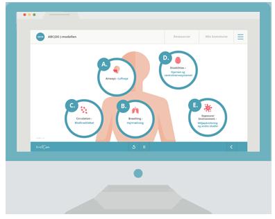 e-læring om Førstehjælp fra KvaliCare